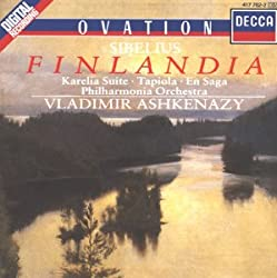 Sibelius: Finlandia, Tapiola, En Saga, Karelia Suite