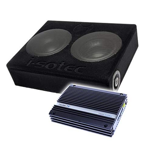 I-SOTEC Auto/KFZ Plug & Play Upgrade Soundsystem (Subwoofer+Endstufe) SUB8 kompatibel für Ford