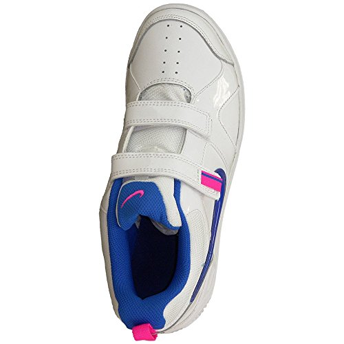Nike - Nike Lykin 11 Scarpe Sportive Bambina Bianche Strappi 454375 113 Bianco