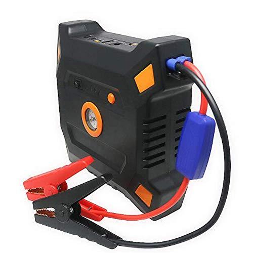 XAJGW Avviamento Automatico per Auto Modello 600A, Jump Box e Alimentatore USB/Portatile con Display LCD, Cavi Intelligenti, Torcia a LED e compressore d\'Aria 12V! (Colore : Orange)