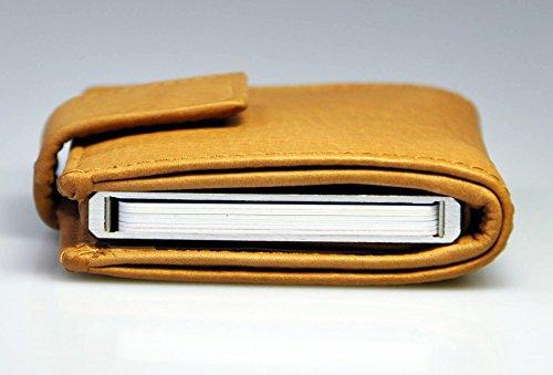 113643d036fbd Action FIGURETTA Geldbörse Mini Wallet RFID Blocker Leder ...
