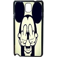 Lapinette COQUE-NOTE-3-MICKEY-FUCK - Funda carcasa para Samsung Galaxy Note 3 diseño Disney Mickey Fuck