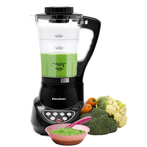 7dc2f688179 Excelvan Soup Maker Machine 900W 1.7L Capacity Electric Jug Blender  Automatic Multifunctional Smoothie Maker with