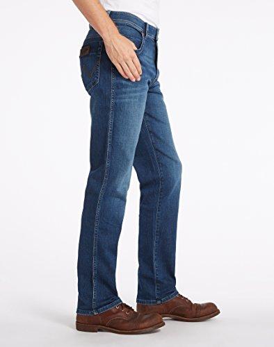 Wrangler Herren Texas Stretch Night Break Jeans Blau (Blue Blue)