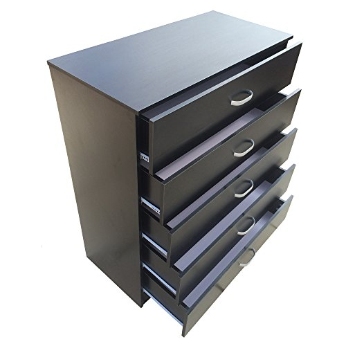 redstone-chest-of-5-drawers-black-white-beech-or-dark-walnut-anti-bowing-drawer-support-black