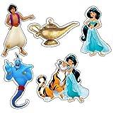 Pretty Ur Party Jasmine and Aladdin Theme Paper Cutouts