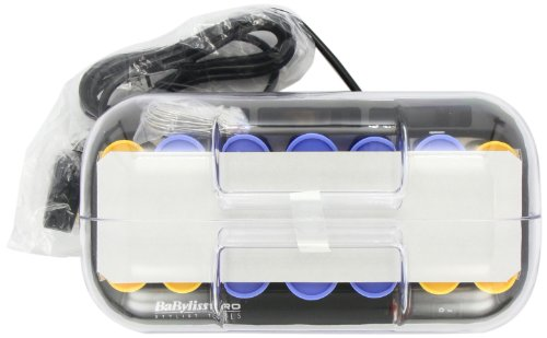 babyliss pro heated rollers how to use