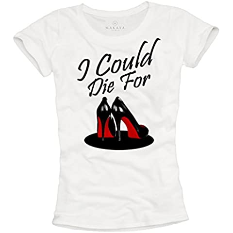 MAGLIETTA I COULD DIE FOR - T-shirt