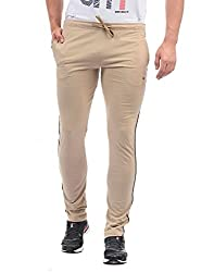 Monte Carlo Mens Relaxed Fit Joggers (21803608-6_Light Brown_38W x 30L)