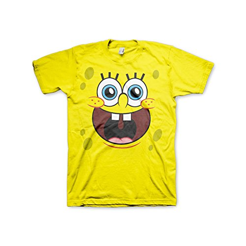 Spongebob Schwammkopf Sponge Happy Face T-Shirt orange M