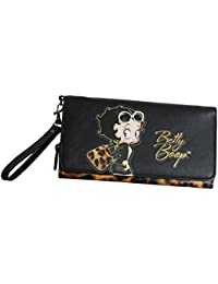 Betty Boop Tribal Portefeuille Porte-Monnaie Cartes Pochette P JV8Kbnr