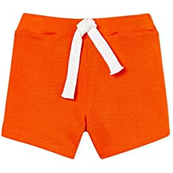 Petit Bateau Baby Boys' Short UNI, Orange (CAROTTE 01), 3-6 Months