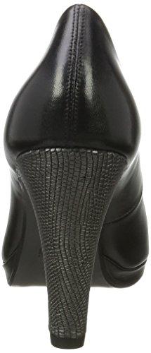 Bugatti V79611, Scarpe con Tacco Donna nero (nero)