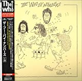 The Who By Numbers Djpak + Poster + Livret Japon