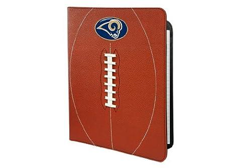 NFL St. Louis Rams Classic Football Portfolio-8.5x 11-Inch