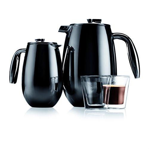 Bodum columbia Kaffeebereiter (Doppelwandig, Edelstahl, Spülmaschinengeeignet, 1,0 liters) matt