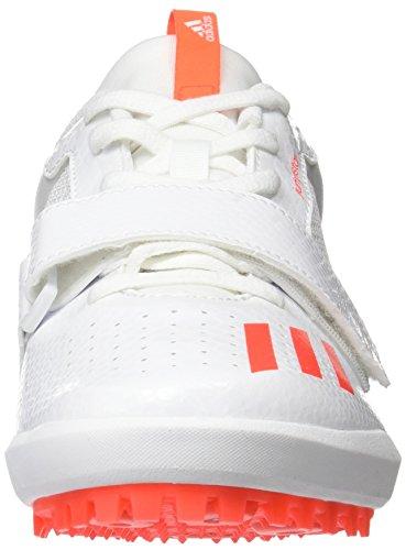 adidas Jumpstar, Chaussures DAthlétisme Homme Multicolore (Ftwr White/solar Red/ftwr White)