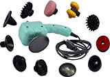 Acupressure Multi Massage With 13 attachments Massager (Multicolor) URJA ENTERPRISES