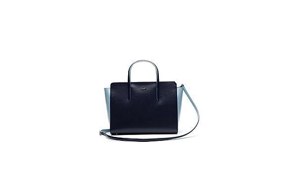 Sac En cem38937 Cuir 820 Bag Lacoste À Main Shopping Ref N8nm0vw