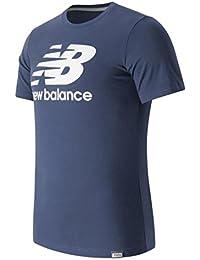 New Balance MT Classics Logo Tee Navy