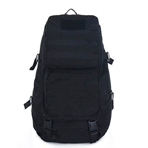 Mode Camouflage Multifunktions Outdoor Reise Tasche Bergsteigen Segeltuch Rucksack Black