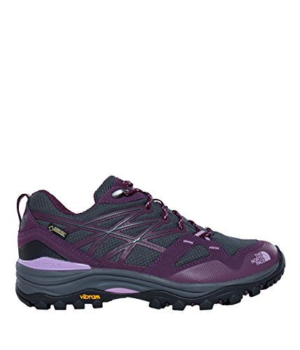 The North Face Hedgehog Fastpack Gtx (Eu), Chaussures de Randonnée Basses Femme Gris (Dark Shadow Grey/violet)