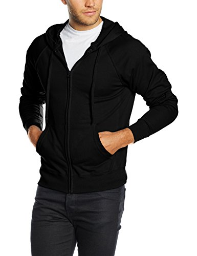 fruit-of-the-loom-ss069m-capucha-para-hombre-negro-medium