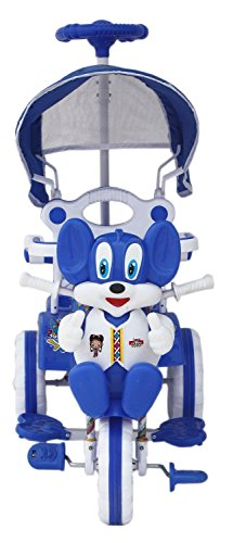 Tricycle 86*64*33 cms 1-3 yrs W/Shade and Parental Control (Blue)