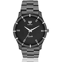 Lorenz Analogue Black Dial Men's Watch - Mk-1062A