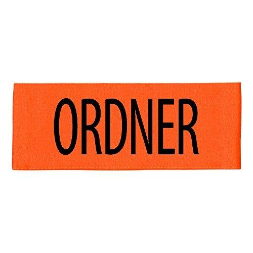 Ordner-fan (ARMBINDE Baumwolle mit Print - Ordner - 30740 orange)