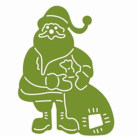 Pak _ Youth en métal Die Cut, Noël, Halloween gaufrage DIY Crafts DIY Album de scrapbooking en papier carte cadeaux Modèle Moule Cutt Box Pochoirs Crafts Coupe Dies, Acier anthracite, E2, 46x62mm