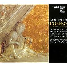 Claudio Monteverdi: L'Orfeo (Gesamtaufnahme)
