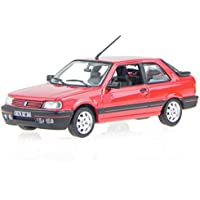 Norev Peugeot 309 GTI Miami Blau 3 T/ürer 1985-1993 1//18 Modell Auto mit individiuellem Wunschkennzeichen