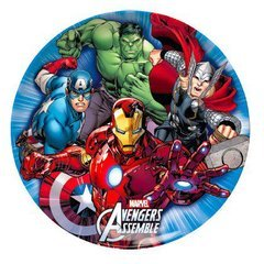 Ciao 33542 - Plato llano Avengers Mighty, multicolor