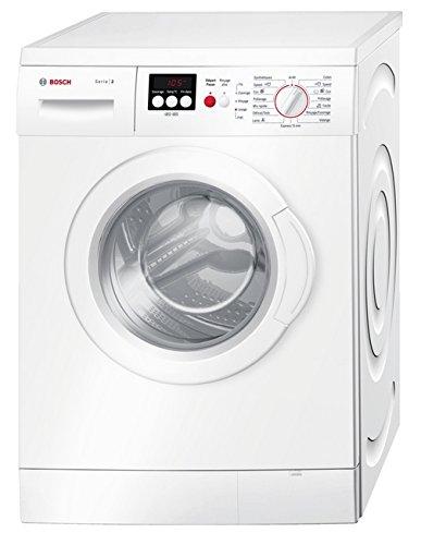 Bosch WAE28217FF Autonome Charge avant 7kg 1400tr/min A+++ Blanc machine à laver - Machines à laver (Autonome, Charge avant, Blanc, Gauche, Acier inoxydable, Plastique)