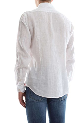 AT.P.CO FRANCIA 5 LINO CHEMISE Homme white
