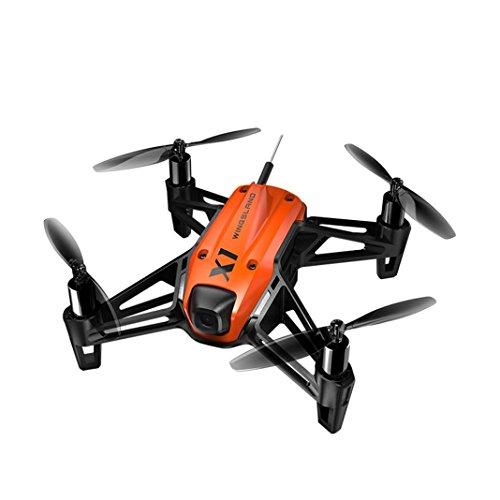 Sisit Orange WINGSLAND X1 2,4G Mini FPV Racing Drone Quadcopter mit HD Kamera Fernbedienung RC Quadcopter Drone (Orange)
