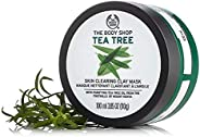The Body Shop Tea Tree Skin Clearing Clay Mask 100ml - helps cleanse, cool and refresh blemished skin without over drying