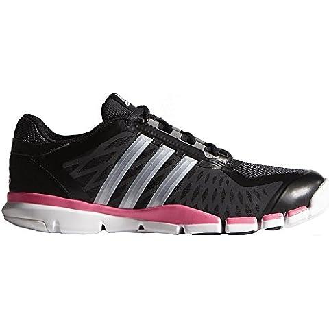 Nuovo Adidas A 360 Controllo Cross Trainer nero / colore rosa 9.5