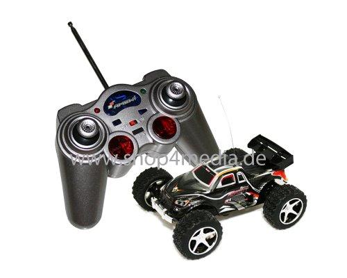 AMEWI RC Car Mini Truggy Running Dog M 1:32 RTR bis zu 30km/h Turbo NEU schwarz