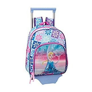 Frozen «Ice Magic» Oficial Mochila Infantil Con Carro Safta 705