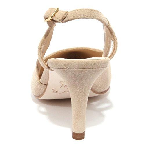 B1158 decollete donna UNISA KIONA scarpa beige shoe woman Beige