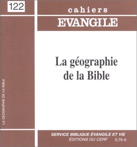 Geographie de la bible ce122