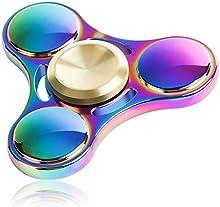 Lalang Spinner Fidget Fidget juguete estrella Hand Spinner Para Adultos Niños (multicolor)