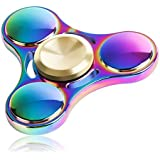 Lalang Spinner Fidget Jouet Tri Fidget Hand Spinner Pour Adultes Enfant (Multicolor)