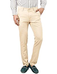 100% Cotton Slim Fit Non stretchable Mens Rocky Pant by Uber Urban
