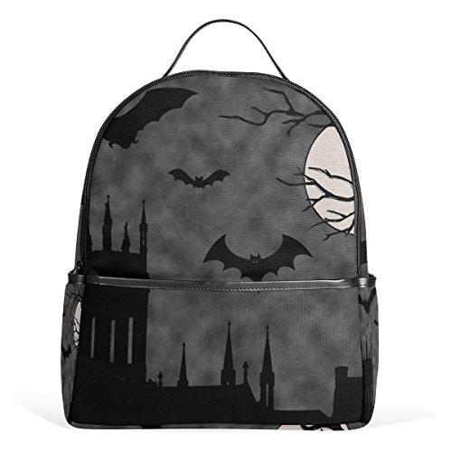 le Twilight Halloween Kids School Backpacks Bookbags for Boys Girls Teens (Halloween Twilight)