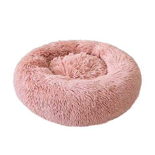 Hahuha Toy,Komfortable Plüsch Kennel Hunde Pet Wurf Tiefschlaf PV Katze Wurf Schlafenbett -