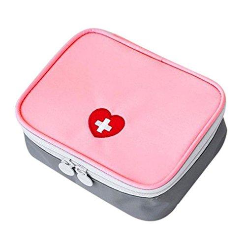 JIAJU Mini-Erste-Hilfe-Kit Tasche Reisemedizin Paket Notfall-Kit