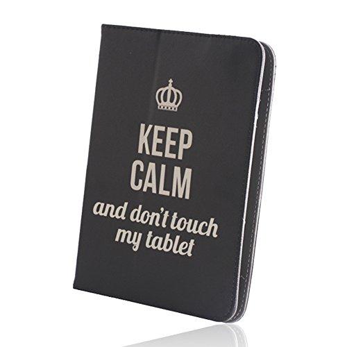 Keep Calm Bookstyle Tasche für Allview Viva Q8 Pro Hülle Etui 9,7-10,1 Zoll